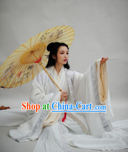 Ancient Chinese Princess Hanfu Clothes Complete Set