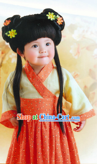 Chinese Classical Hanfu Costumes for Kids
