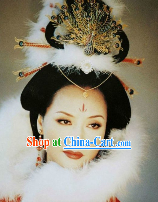 Chinese Imperial Palace Empress Phoenix Hair Accessories