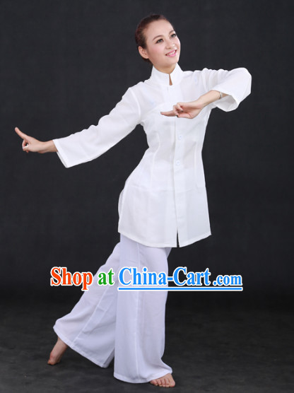 White Classical Dance Costumes for Women