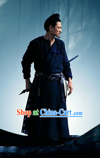 Black Swordsman Dresses Complete Set for Men