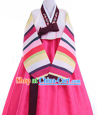 Korean Traditional Hanbok Clothing
