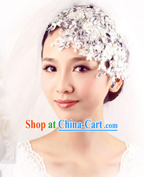 Romantic Handmade Wedding Bridal Hair Jewelry