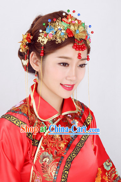 Chinese Classical Wedding Headgear