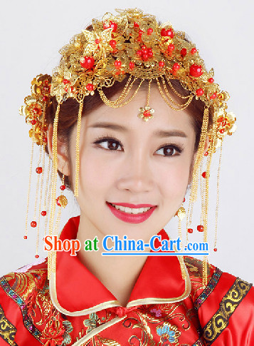 Chinese Classic Wedding Head Jewelry