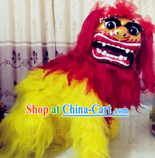 One Person Chinese Northern Lion Dancing Costumes