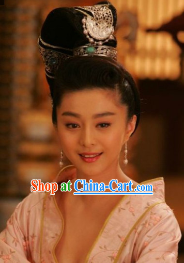 Yang Guifei Hair Accessories and Wig
