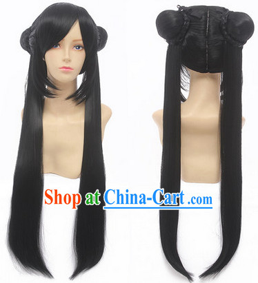 Ancient Chinese Cosplay Long Wig