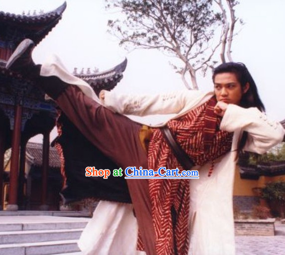 Chinese Traditional Historical Kung Fu Costumes for Men