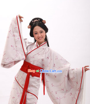 Traditional Lng Full Body Garment Quju Hanzhuang  for Women