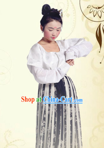 Traditional Classical Han Dynasty Clothes for Girls