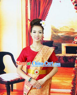 Southeast Asia Traditional Dresses for Women