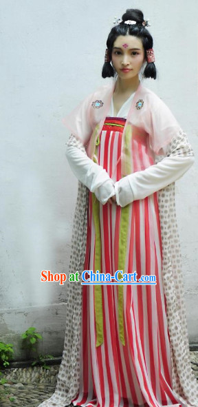 Tang Dynasty Female Clothing for Women