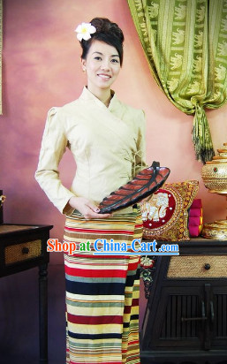 Thailand Traditional Outfit for Women