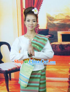 Cambodia Traditional Clothes for Women 2