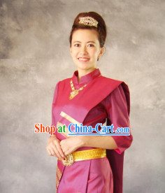 Traditional Thailand Outfit for Women 2