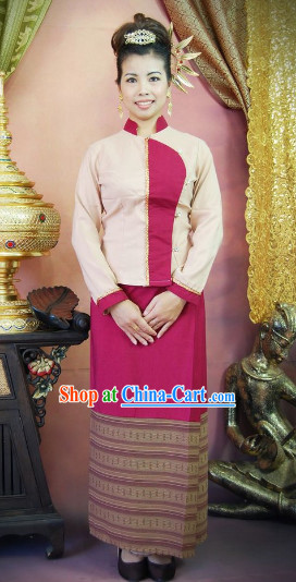 Traditional Thailand Clothes for Girls