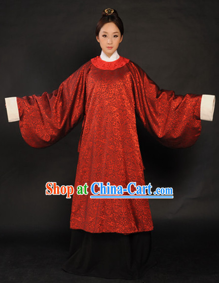 Refined and sophisticated Chinese Classical Hanfu Suits for Women