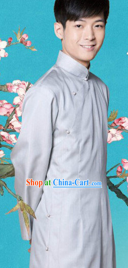 Traditional Chinese Mandarin Embroidered Robes for Men