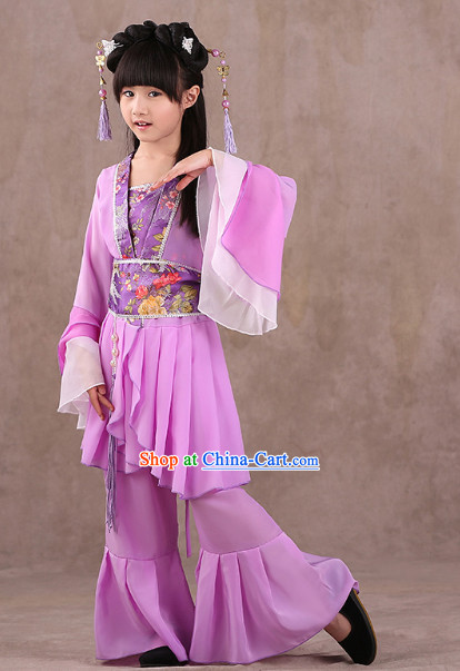 Chinese Classical Performance Dancewear for Kids