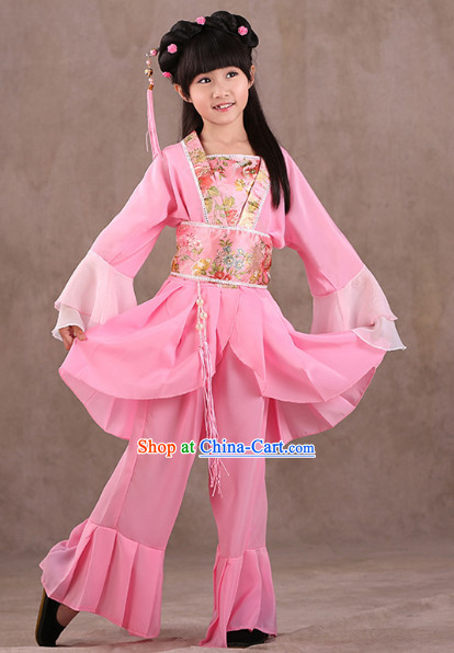 Chinese Classical Performance Dancewear for Children