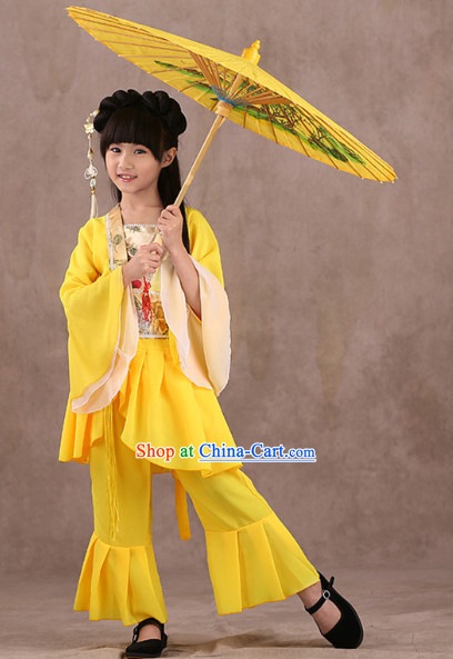 Chinese Classical Performance Dancewears for Children