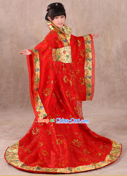 Traditional Chinese Princess Clothes for Kids
