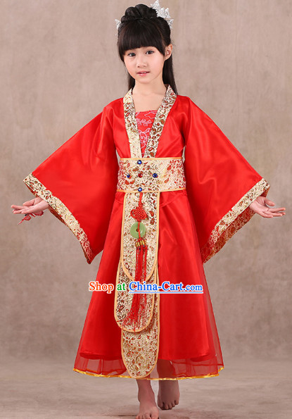 Ancient Chinese Princess Outfit for Children
