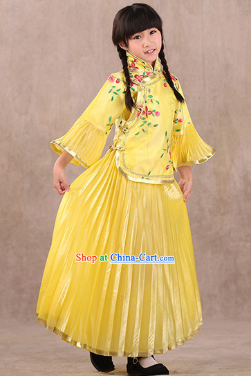 Community Theater Chinese New Year Costumes for Kids