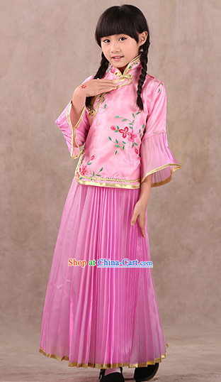 Community Theater Chinese Lunar New Year Costumes for Kids