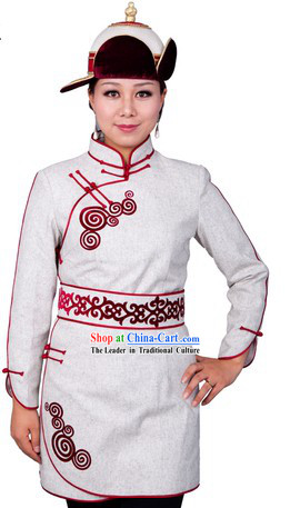 Traditional Chinese Mongolian Dresses for Women