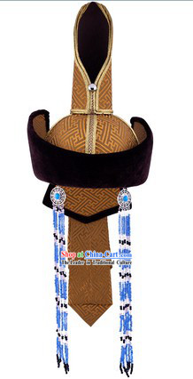 Traditional Mongolian Empress Hat
