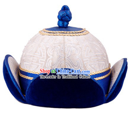 Traditional Chinese Handmade Mongolian Female Hat
