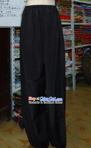 Traditional Chinese Beijing Opera Black Pants
