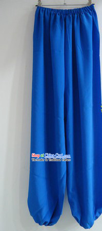 Traditional Chinese Beijing Opera Blue Pants