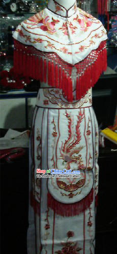 Traditional Chinese Stage Performance Embroidered Phoenix Princess Costume