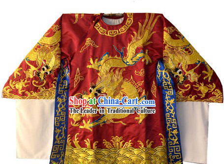 Traditional Chinese Embroidered Dragon Costumes