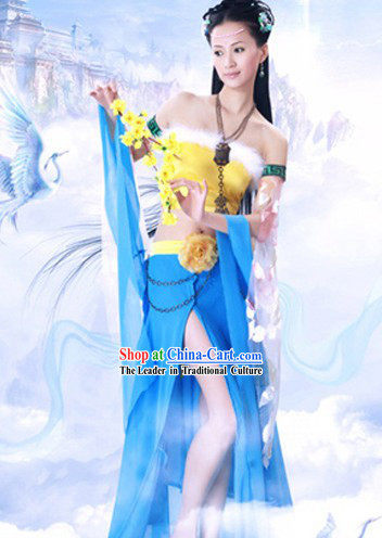 Traditional Chinese Image Legend Bi Bo Fairy Costumes