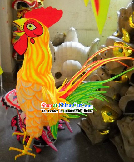 Chicken Year Arts of Chinese New Year Sheng Xiao 12 Symbolic Animals Associated with A 12 Year Cycle