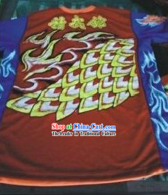 Professional Performance Dragon Dance T-shirt Outfit