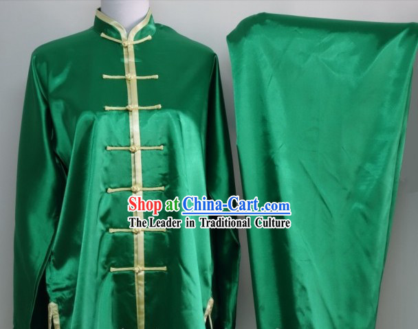 Professional Silk Dragon Dance and Lion Dance Uniform for Men or Women
