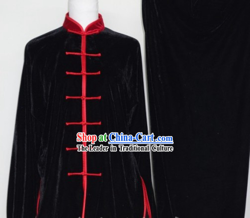 Chinese Martial Arts Tai chi Kung Fu Velvet Uniforms