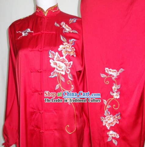 Traditional Frog Button Kung Fu Uniforms