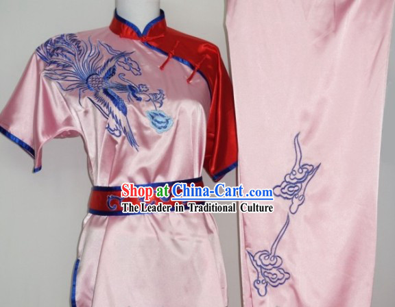Global Championships Tournament Black Martial Arts Phoenix Embroidery Uniforms