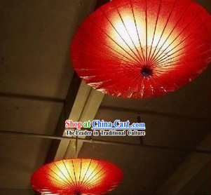 Handmade Traditional Chinese Umbrella Shape Lantern