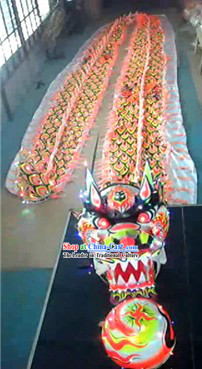Luminous Dragon Dance Equipments Costumes Complete Set