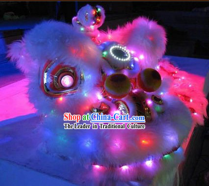 LED Lion Head and Body Costumes Complete Set