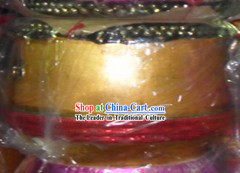 Handmade 22 Inches Gold Lion Dance Drum