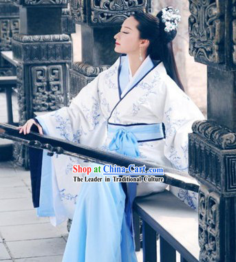 Ancient Chinese Beauty Hanfu Clothes Complete Set for Women