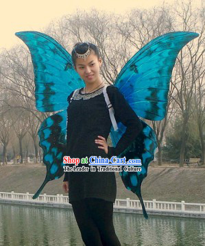 Handmade Professional Show Big Butterfly Wings
